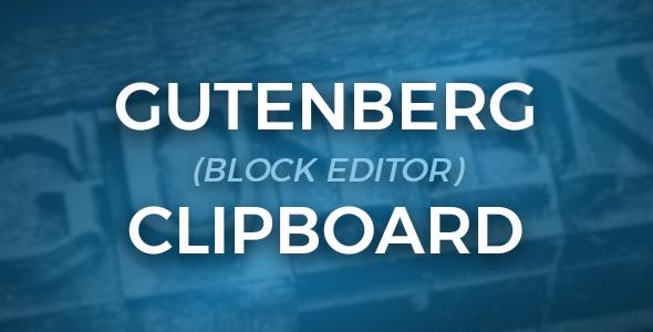 Gutenberg Clipboard